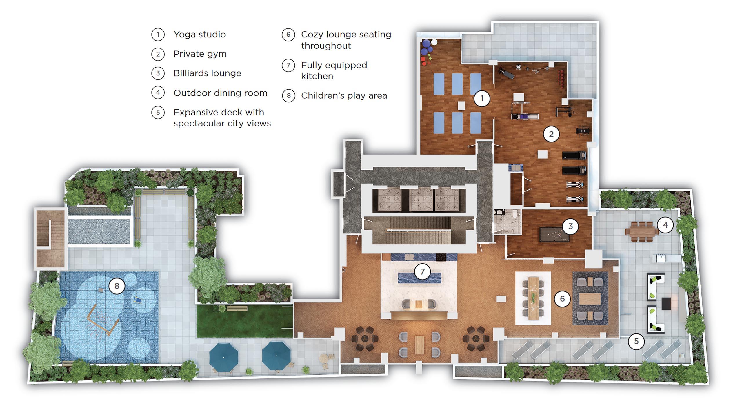 11th floor amenities